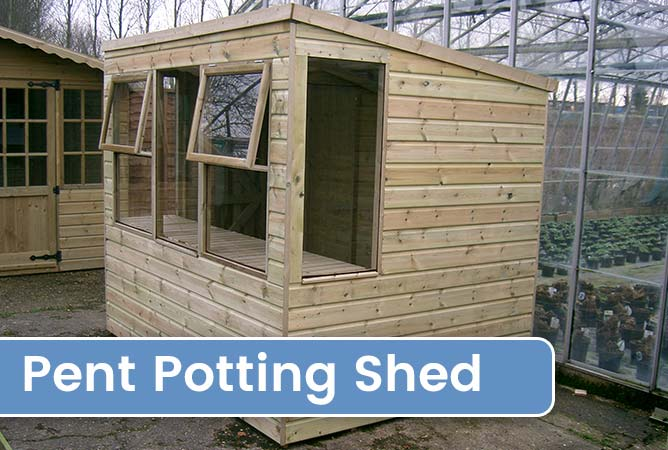 Pent Potting Sheds