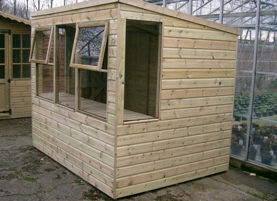Maidstone shed build